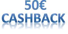 50 € Cashback